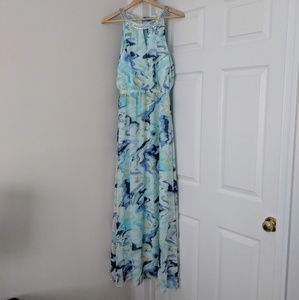 NWT Vince Camuto Watercolor Maxi